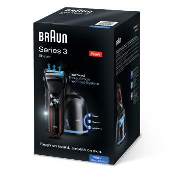 Køb Braun Barbermaskine Series 3 350cc billigt hos nohea