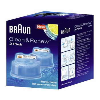 Køb Braun Rensevæske Clean&Renew CCR 2 stk billigt her